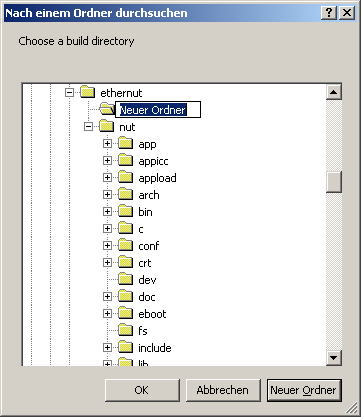 Creating the Nut/OS Configurator